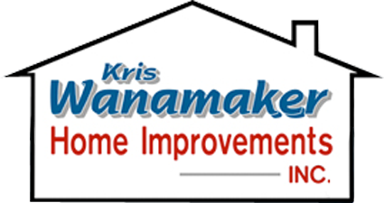 Kris Wanamaker Home Improvements Retina Logo